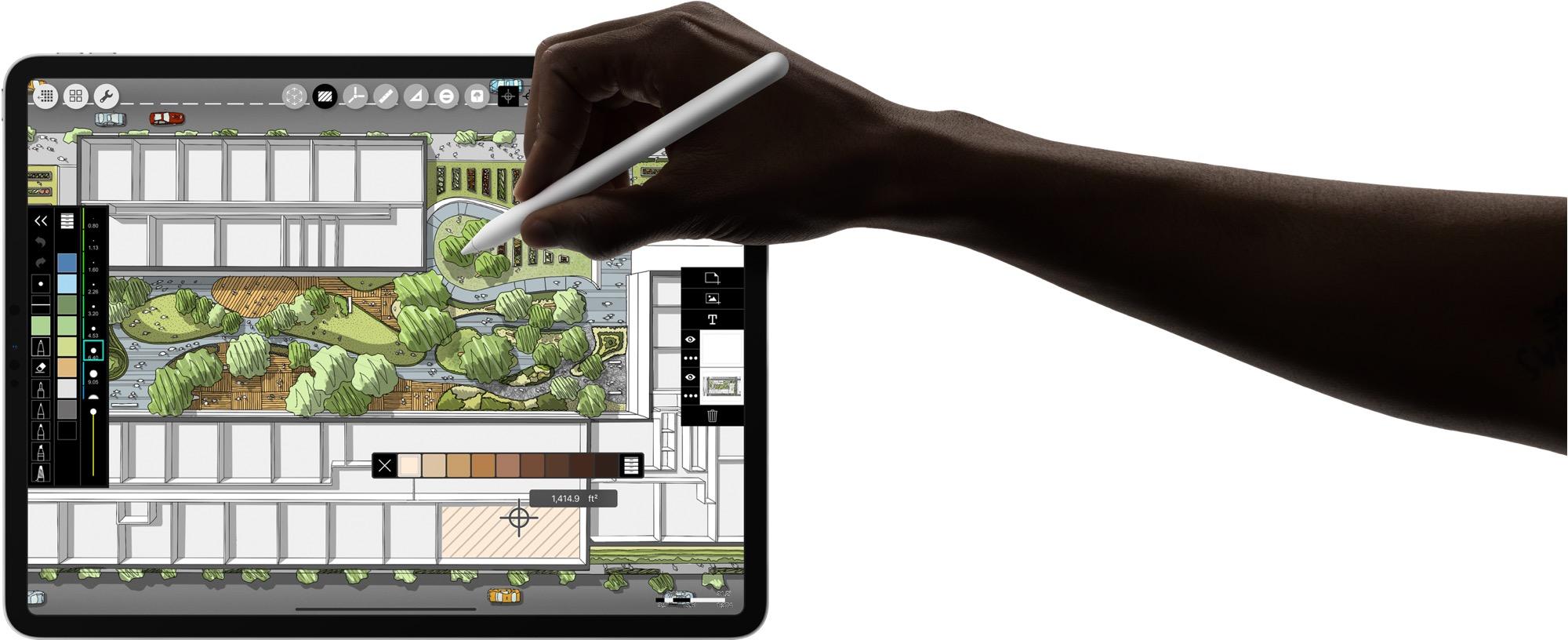 Rajzolás iPad Pro-val.