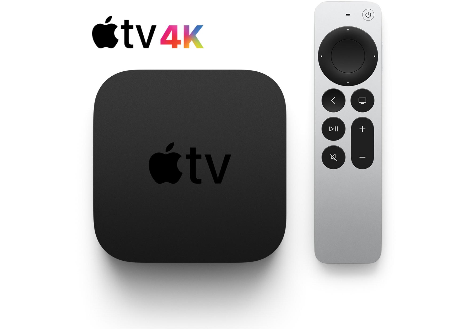 Apple TV 4K médiaközpont