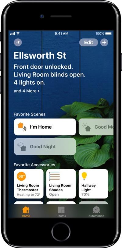 HomeKit vezérlés egy központi Apple TV jóvoltából távolról
