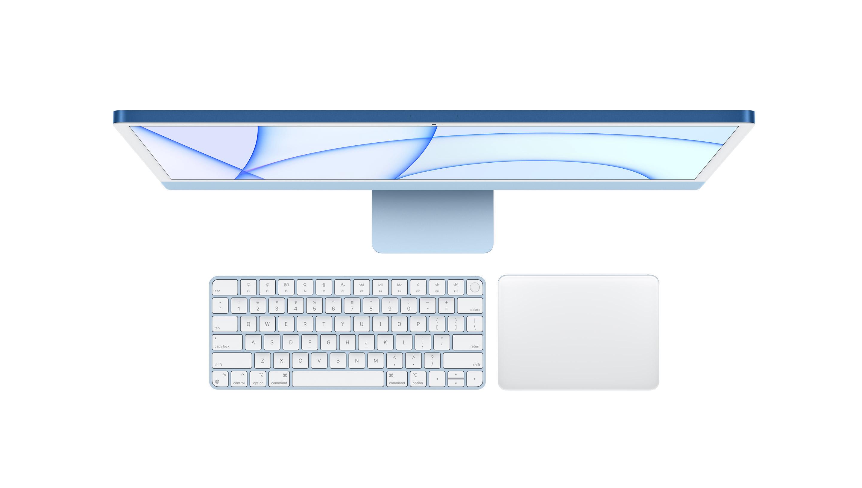 """iMac 24"""" bámulatos 4,5K kijelzővel és ultragyors Apple M1 processzorral"""