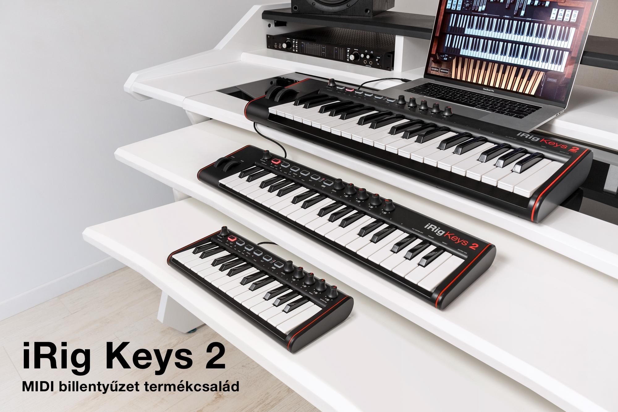 iRig Keys 2 termékcsalád