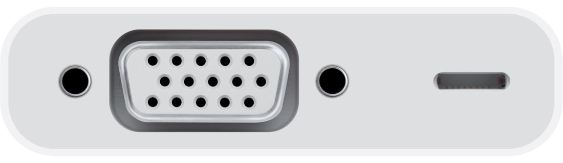 Lightning VGA Adapter