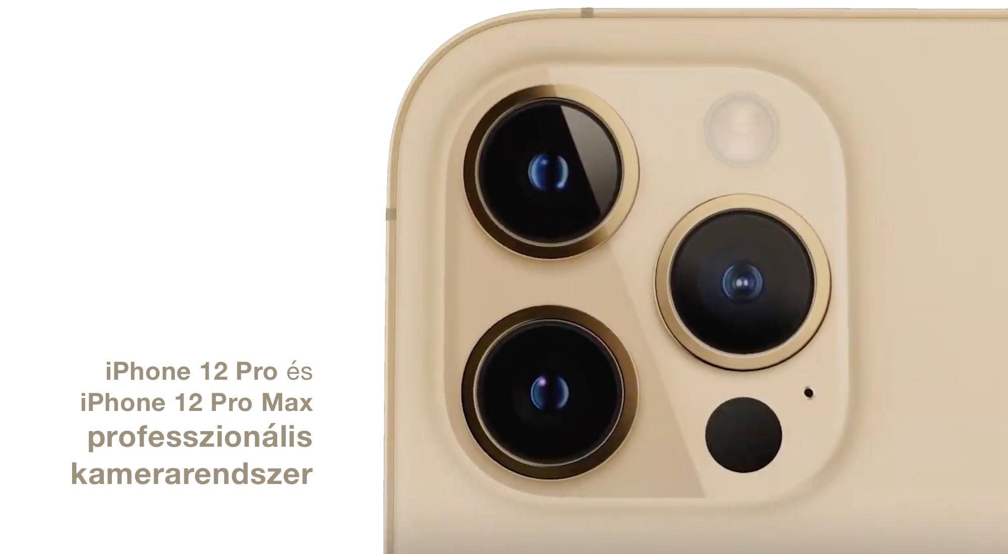 Professzionális kamerarendszer