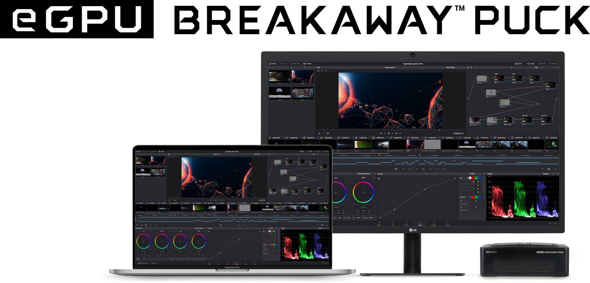Sonnet eGPU Breakaway Puck külső videókártya