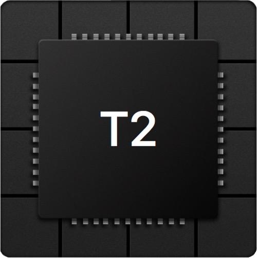 Apple T2 segédprocesszor.