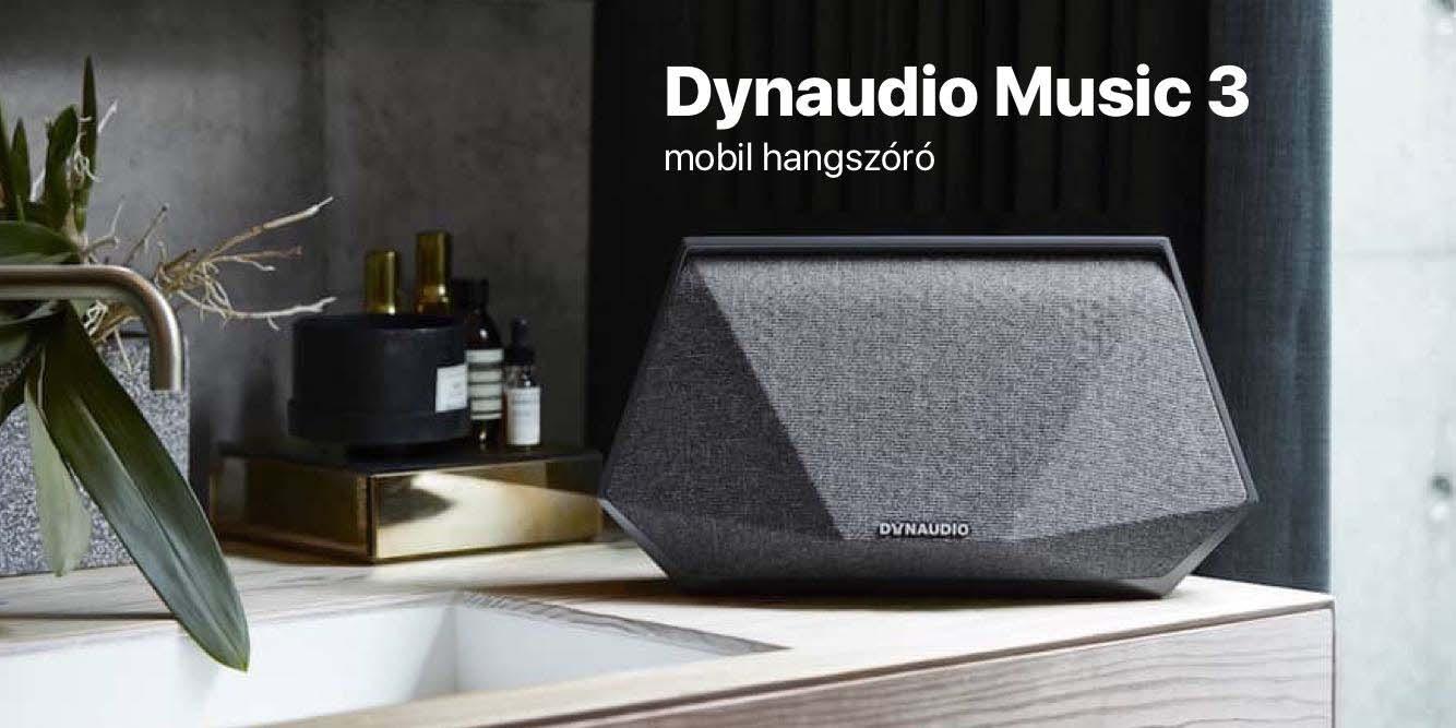 Dynaudio Music 3 mobil hangszóró